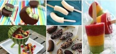 Frutta fai-da-te: tante idee fresche e colorate per una merenda sana